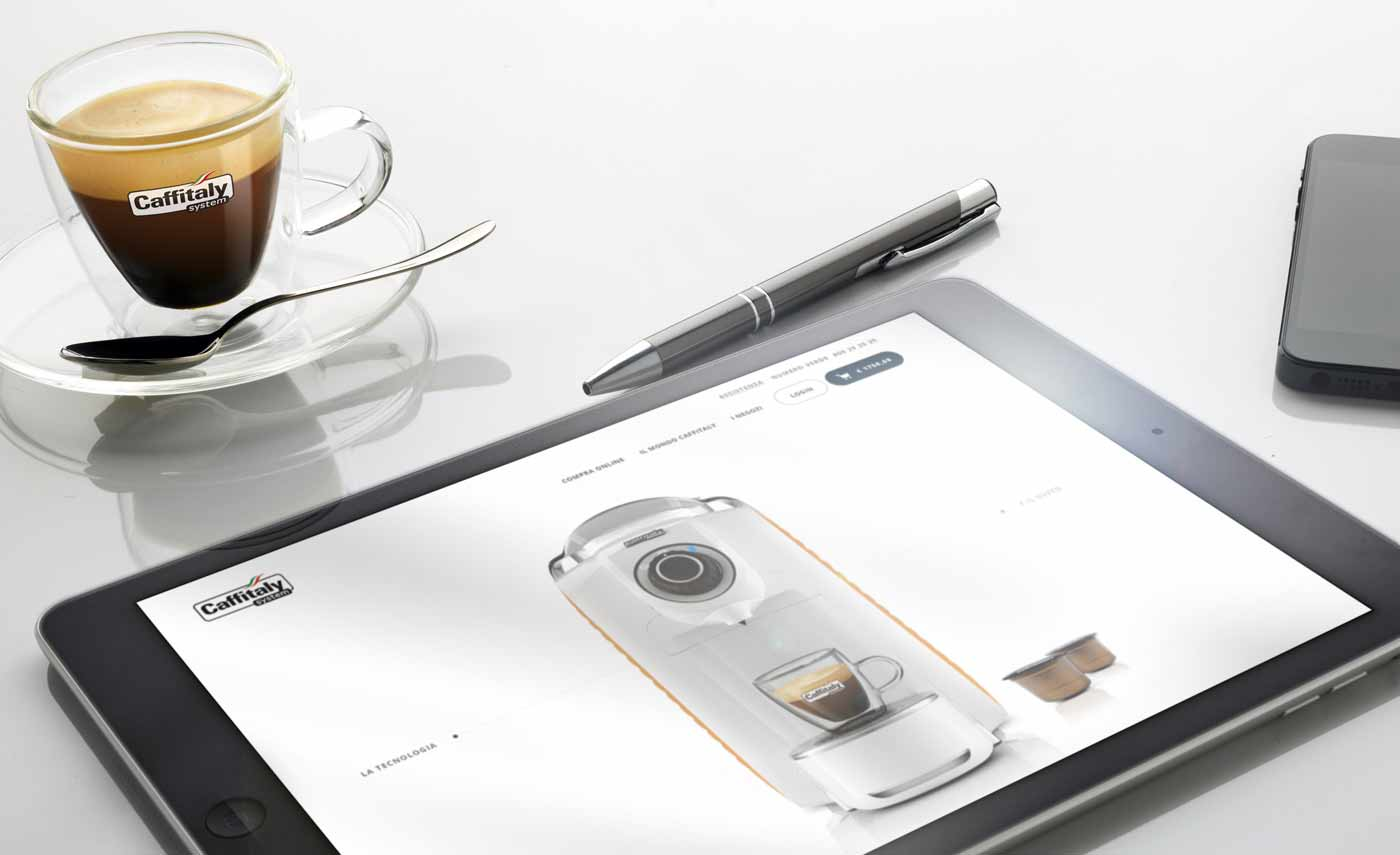 immagine design macchina da caffe caffitaly