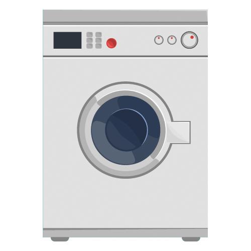 immagine ricambi lavatrice disegnata
